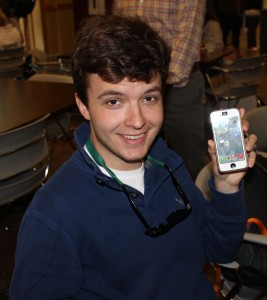 """I like it because it's different. It has a lot of new gadgets and I like the new backgrounds."" - Mike Serbanoiu, '15"