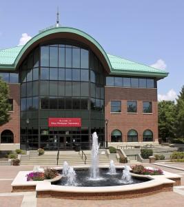 Hamilton-Williams Campus Center, the temporary home of Ohio Wesleyan's weight room. Photo: news.owu.edu