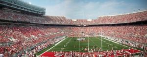 Ohio Stadium, home of the Ohio State University Buckeyes. Photo: Wikimedia