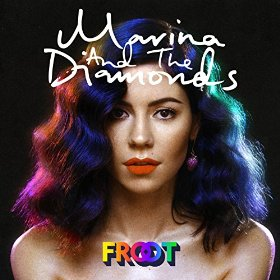 "Album cover for ""Froot"" by Marina and the Diamonds."