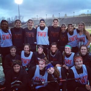 The women's lacrosse team. Photo courtesy of Coach Chelsea Huguenard.