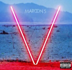 "Maroon 5's album titled ""V."" Photo courtesy of ivocabrera.com."