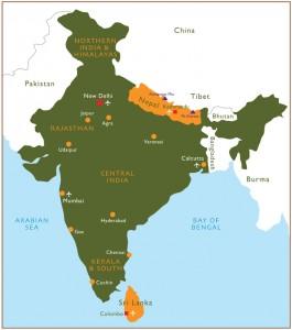 India and Nepal. Photo courtesy of biggsity.com.