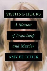 "The ""Visiting Hours"" book cover. Photo courtesy of amazon.com."
