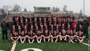 The 2015 OWU men's lacrosse team. Photo courtesy of battlingbishops.com.