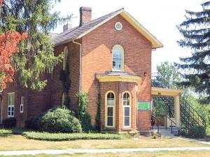 The Modern Foreign Language House (MFL) on Rowland Avenue. Photo courtesy of owu.edu.