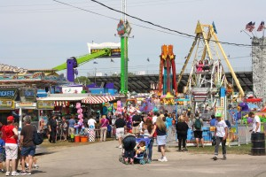 The annual Delaware County Fair. Photo courtesy of the OWU website.