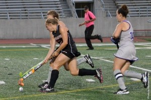 OWU field hockey players beat Bethany on Friday. Photo courtesy of the Battling Bishops website.