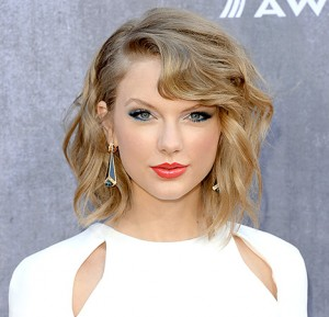 Taylor Swift at the 49th Annual Academy of Country Music Awards. Photo courtesy of US Magazine's website.