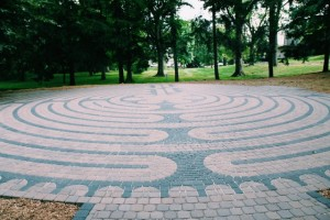 OWU's labyrinth. Photo courtesy of Connect2OWU.