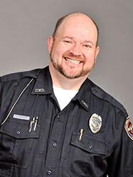 Public Safety Officer Jay McCann. Photo courtesy of the owu website.