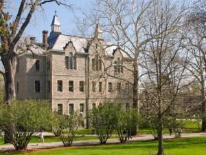 Faculty met in Merrick Hall. Photo courtesy of owu.edu