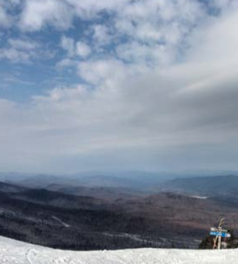 Killington, Vermont, a place normally covered in snow this time of year. Photo by Matt Cohen.