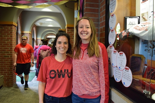 Dina Daltorio and Emily Paetz hung out at Day on Jay