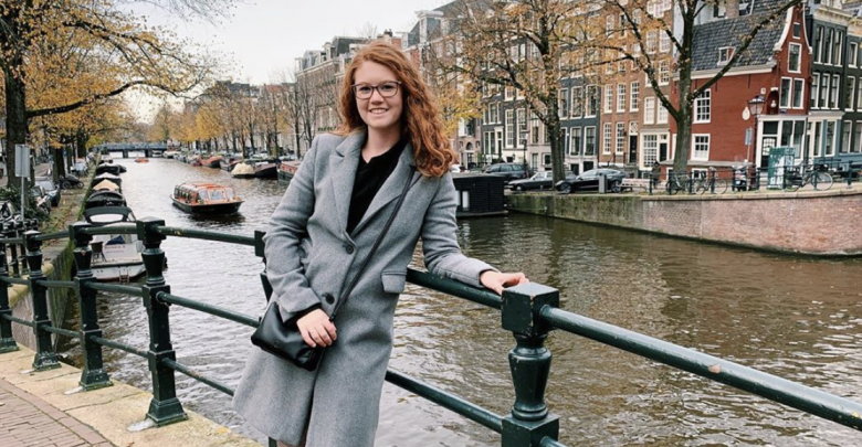 Junior Paige Hunter visits Amsterdam during her semester studying abroad in Salamanca, Spain. Photo provided by Paige Hunter.